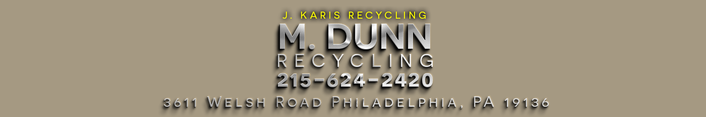 M Dunn Recycling Phialdelphia Cash for Scrap Metal
