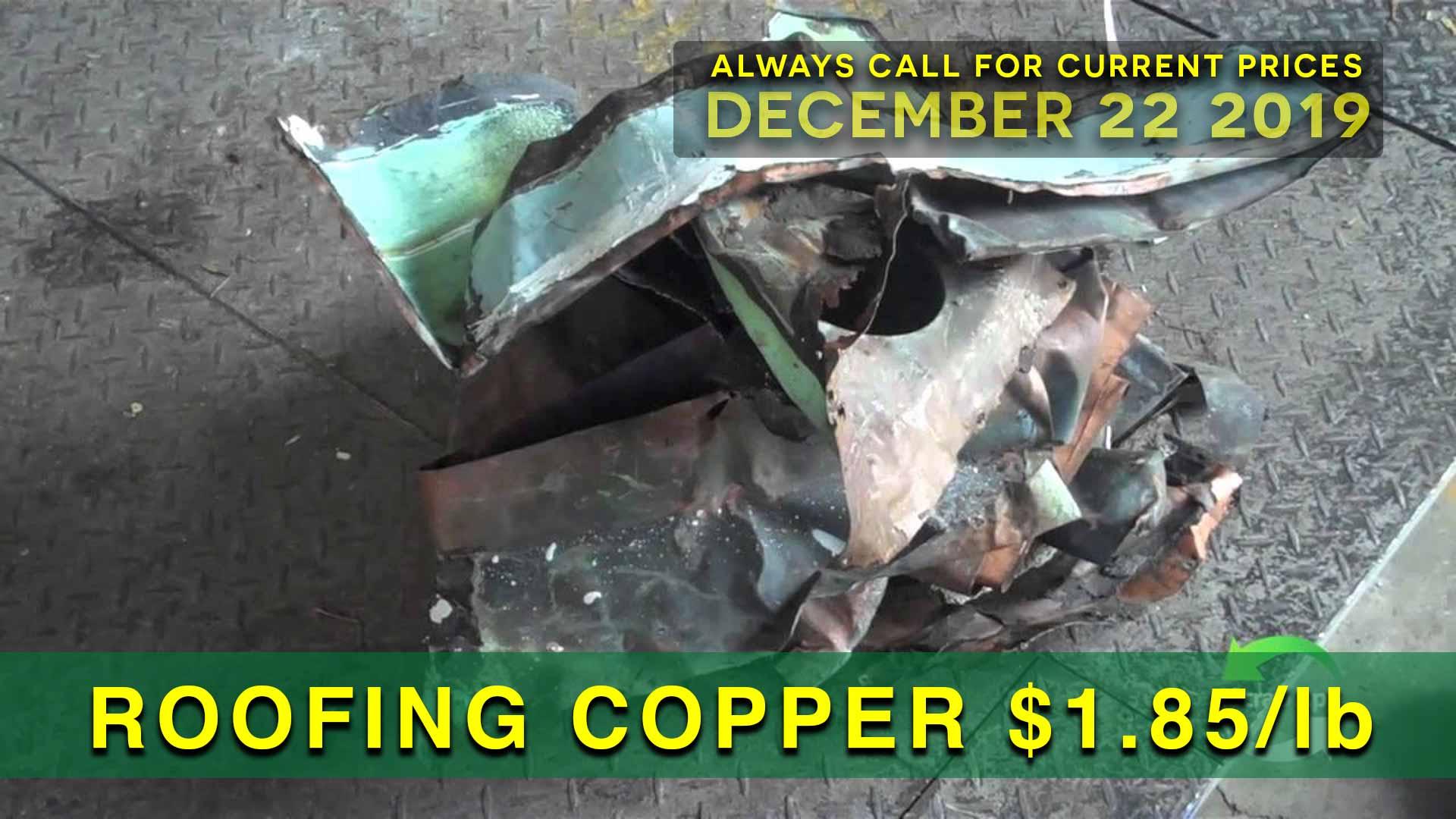 Scrap Metal Prices Philadelphia December 22 2019
