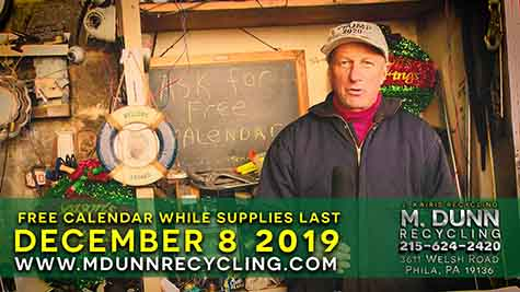 Scrap Metal Prices Philadelphia December 8, 2019  Get your FREE 2020 Calendar and Using a Magnet to Test Aluminum Chrome Wheels to see if they are worth bringing in for CASH!
