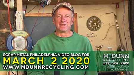 Scrap Metal Prices Philadelphia February 23, 2019